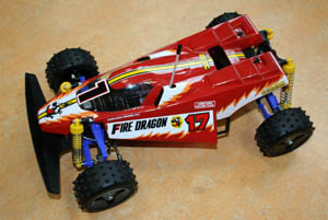 Tamiya Fire Dragon (réédition).