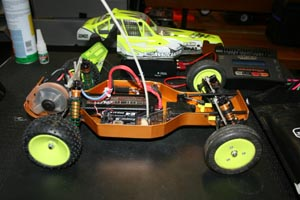 Team Associated RC10 CE (1995).