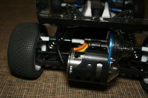 """J Concepts /""""Rulux/"""" roues arrière-Blanc B4-RC voiture"""